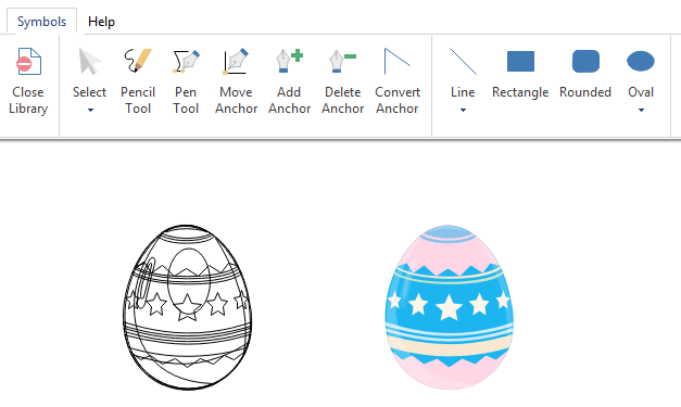 draw infographics easter icons