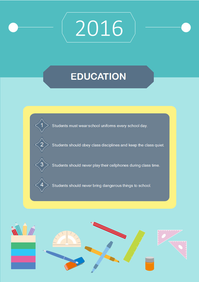 Education Infographic Example 5