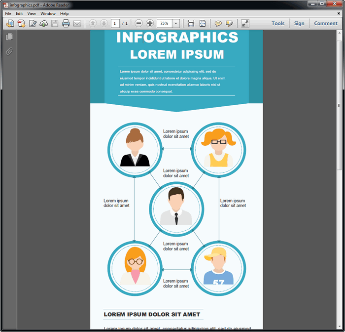 Infographic tutorial pdf