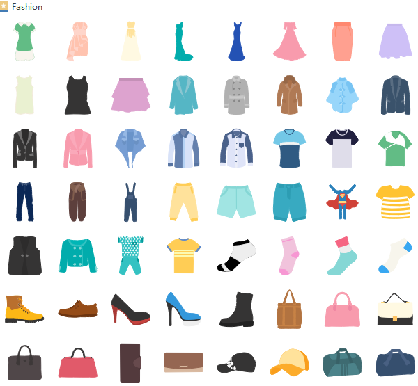 Fashion Infographic Elements