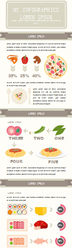 Example 3 for Food Infographic
