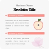 infographic newsletter