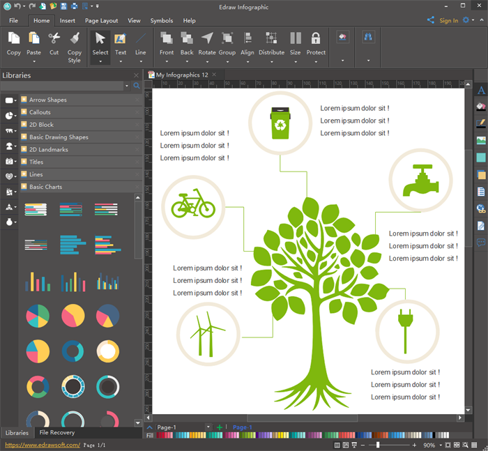 Infographic creator download