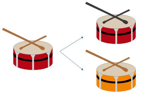 Edit music infographics element