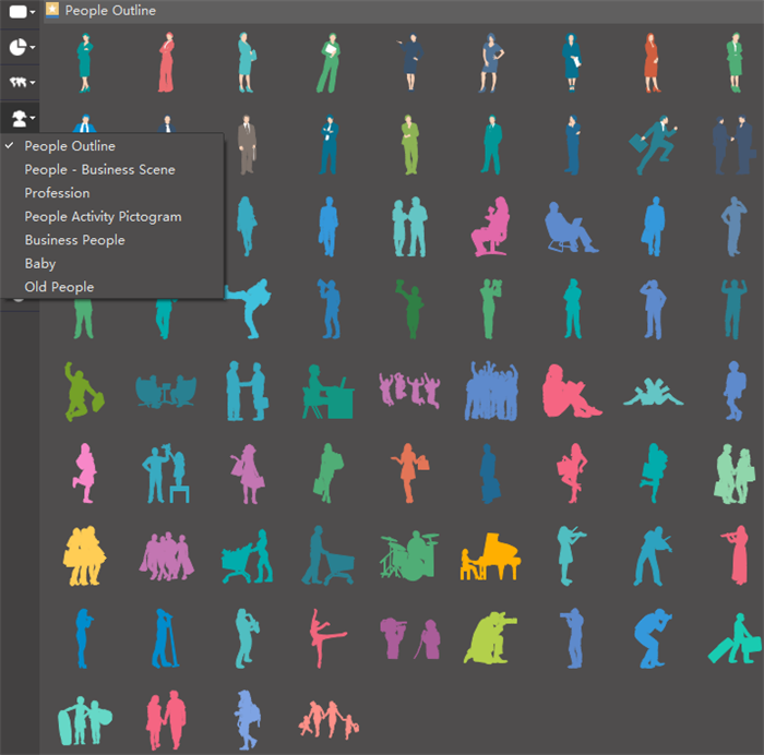 free vector people infographic templates