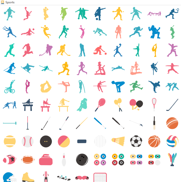 Sports Infographic Elements