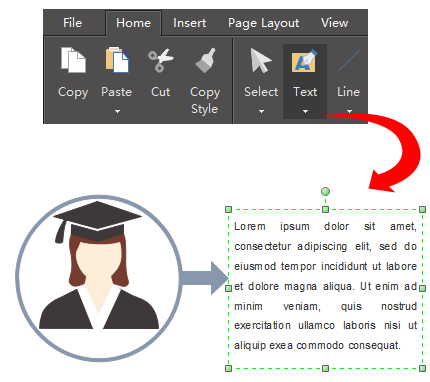 Add Text for Education Infographics