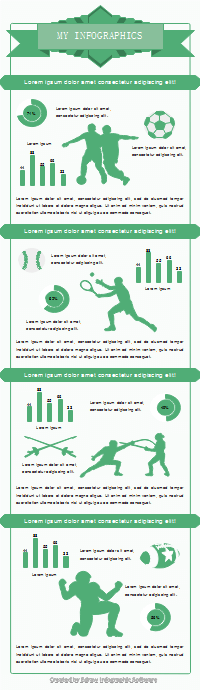 50 editable infographic templates best sport infographic pronofoot35fo Gallery