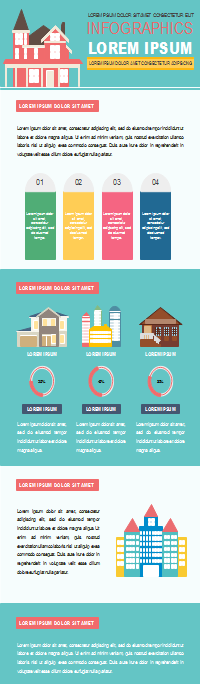 Citizen Dwelling Infographic Template