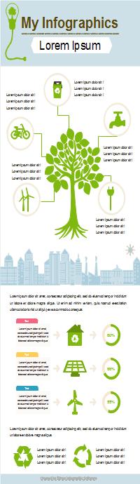 Infografía de cuidado ambiental