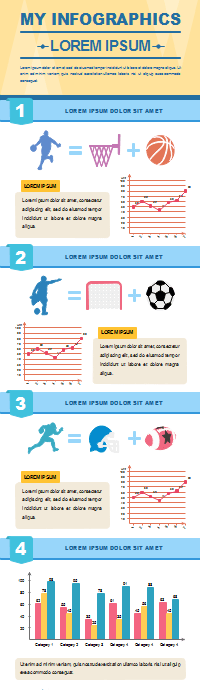 50 editable infographic templates favorite sport infographic template pronofoot35fo Gallery