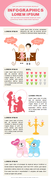 Valentine Infographic Template