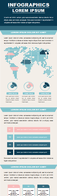 50+ Editable Infographic Templates