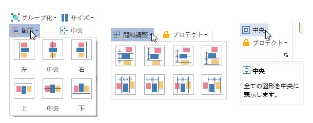 フォールト ツリー解析図のレイアウト