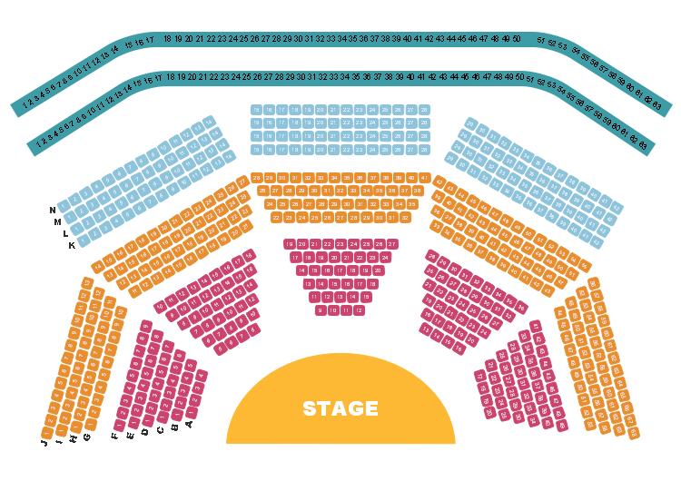 劇場座席表テンプレート