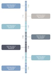 タイムラインインフォグラフィック 2