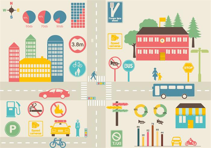 交通インフォグラフィック