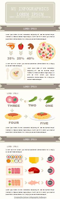 料理作りインフォグラフィック