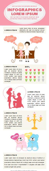 バレンタインインフォグラフィック