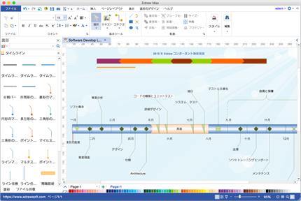 プロジェクト管理 ソフト - Mac/Windows/Linuxに対応