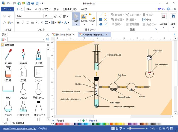 科学イラスト設計ソフト 科学図表を簡単に作成