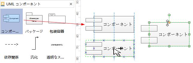 UML 図形の添加