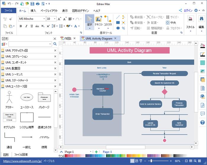 UML 図作成ソフト