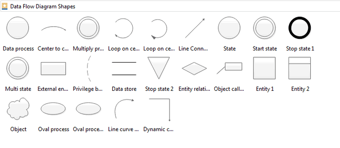 Data Diagram Symbols
