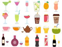 Drink and Beverage Clipart
