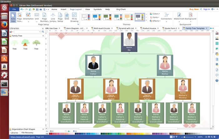 linux family tree software track your family history better