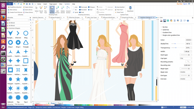 Stylish Fashion Design Software For Linux Design Your Own Fashion