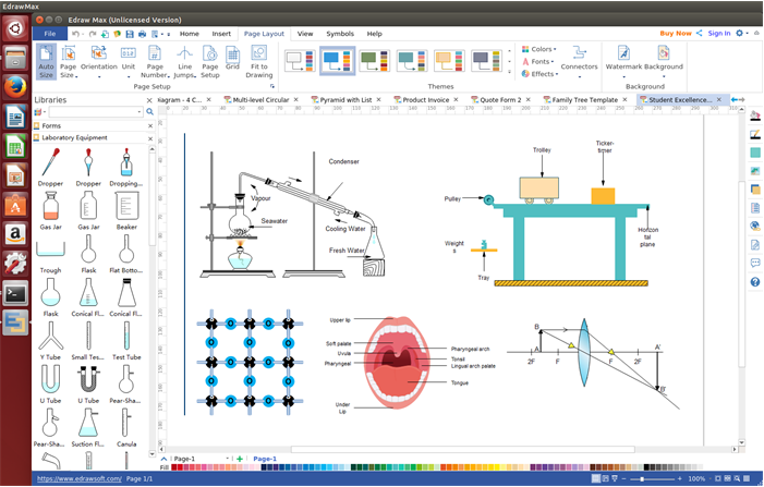 Scientific Illustration Software for Linux
