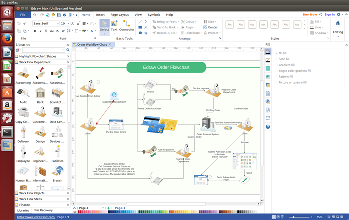 Linux Workflow Software Create Workflow Diagrams Freely