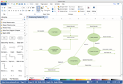 ER diagram visio alternative