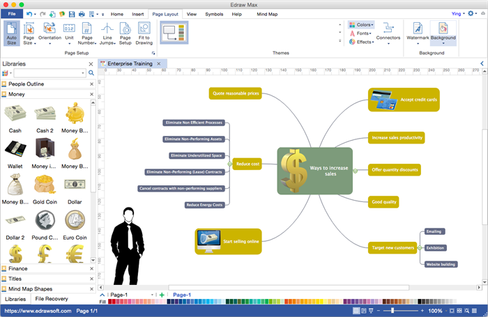 Mac diagram software edraw max for mac mind maps ccuart Gallery