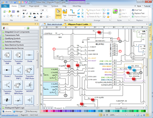 Industrial    Control    Systems    Diagram      Electrical