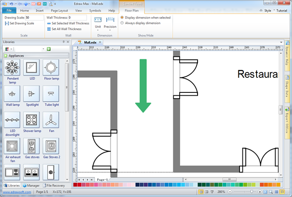 Easy architectural drafting maker for Simple architectural drawing software