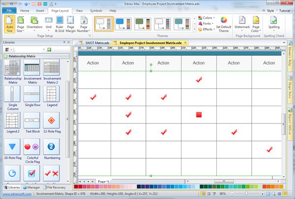 Authoritymatrix on Floor Plan Examples