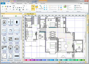 Building plan floor plan solutions for Building layout maker