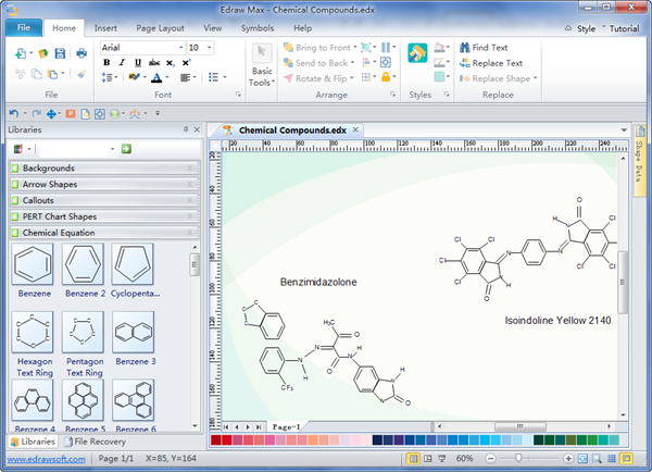 Chemistry equation drawing software Simple drawing program for windows