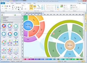 Logiciel de diagramme en cercle