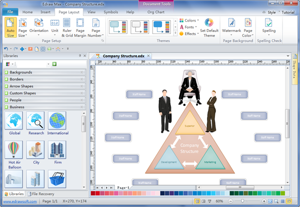 Custom Organizational Charts Maker