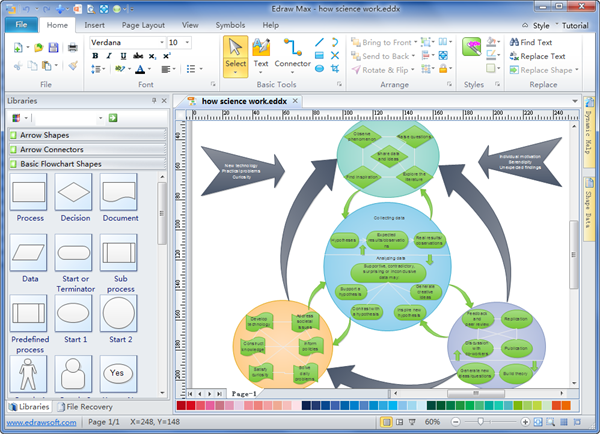 Education Diagram Maker