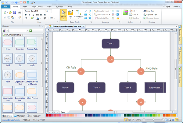 simple efd software   make great looking event flow diagramdiscover why edraw is the simplest and easiest  yet most powerful efd software  download it now