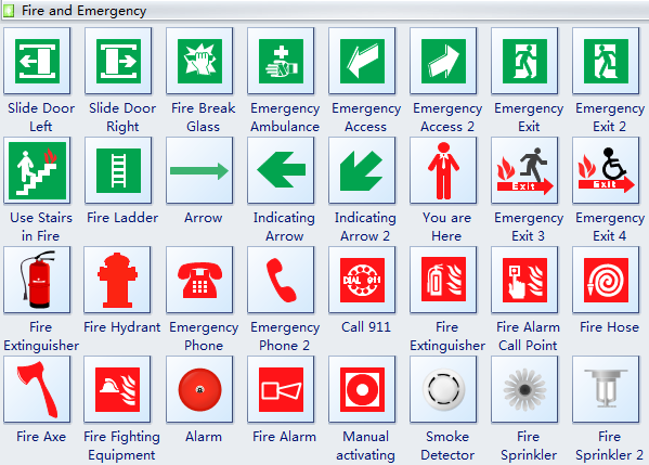Evacuation Diagrams Free Download Diagram Software