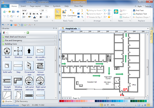 Fire escape plans free download fire escape plan software Diagram drawing software free download
