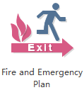 Fire Evacation Diagram