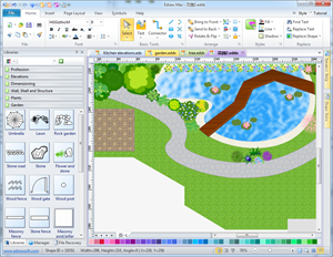 Garden Design For Layout And Planting Of Gardens And