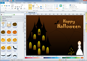 Halloween Card Software