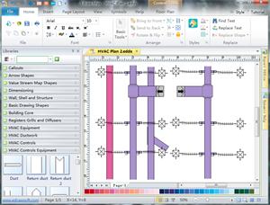 HVAC Plan Floor Plan Solutions